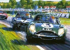 Car Prints, Most Popular Cars, Aston Martin Cars, Train Art, British Sports Cars, Car Posters, E Type, Car Drawings, Poster
