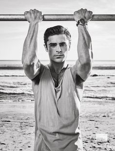 Zac Efron para Men's Fitness Magazine Junio 2016 por Jeff Lipsky