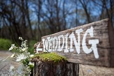 ♡ Rustic #Wedding #Sign ♡ Wedding Planning #App for brides, grooms, parents & planners https://itunes.apple.com/us/app/the-gold-wedding-planner/id498112599?ls=1=8  how to organise an entire wedding, within ANY budget ♥ The Gold Wedding Planner iPhone App ♥ http://pinterest.com/groomsandbrides/boards/  for more magical wedding ideas ♡