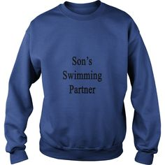 sons_swimming_partner T-Shirts (Copy)  #gift #ideas #Popular #Everything #Videos #Shop #Animals #pets #Architecture #Art #Cars #motorcycles #Celebrities #DIY #crafts #Design #Education #Entertainment #Food #drink #Gardening #Geek #Hair #beauty #Health #fitness #History #Holidays #events #Home decor #Humor #Illustrations #posters #Kids #parenting #Men #Outdoors #Photography #Products #Quotes #Science #nature #Sports #Tattoos #Technology #Travel #Weddings #Women