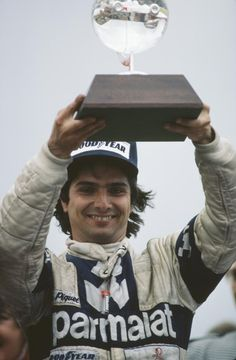 Nelson Piquet, (BR) won Brabham's last world championships in 1981, and 1983.