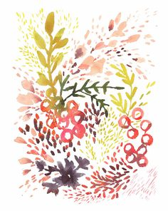 Flourish Archival Print by kellyventura on Etsy