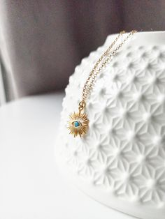 Evil Eye Necklace, Beaded Necklace, Gold Necklace, Unique Gifts For Her, Gold Filled Chain, Photo Jewelry, Turquoise Necklace, Etsy, Beaded Collar