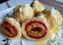 Ovocné knedlíky z tvarohového těsta Czech Recipes, Ethnic Recipes, Sweet And Salty, Doughnut, Sushi, Recipies, Cheesecake, Pudding, Healthy Recipes