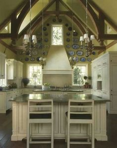 # HOME KITCHEN W/ LOVELY HIGH CEILING