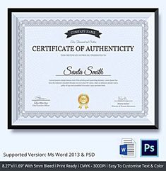 certificate of authenticity template certificate of authenticity template free certificate of