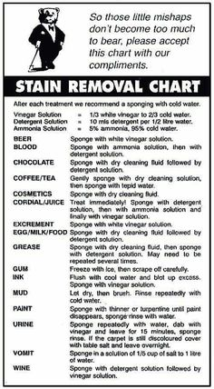 Stains To Remove And Water Stains On Pinterest