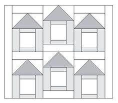 Moda Be My Neighbor Free Quilt Block Pattern