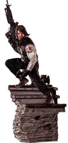 BLOG DOS BRINQUEDOS: Winter Soldier Marvel Sixth Scale Figure