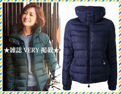 2014秋冬 新作★VERY掲載★MONCLER☆SANGLIER☆ダウンジャケット 雑誌VERYに掲載されている、2013-2014秋冬の新作商品です。インナーフードになっているので、フードの出し入れでコーディネートに合わせた着こなしができるのが、魅力的です。
