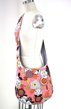 CROSS BODY Slouch Bag Hobo Messenger Bag Every by knitshearbliss, $48.00