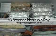Making 50 Freezer Meals in one Day... Been wanting to stock the freezer