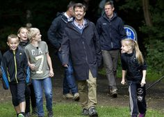"""2 September 2013 Crown Prince Frederik participated in the opening of the campaign """"Day of Nature"""" in association with the Danish Society for Nature Conservation, of which he is patron."""