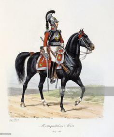 Mousquetaires Noirs 181415 Histoire de la Maison Militaire du Roi de 18141830 volume 2