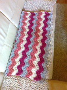 Crochet baby blanket:  https://www.facebook.com/317285511709690/photos/a.569635076474731.1073741836.317285511709690/579665355471703/?type=3&theater