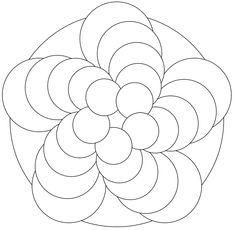 Zentangle template #37