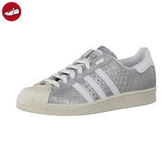 Adidas Sneaker Women SUPERSTAR 80S S76415 Silber, Schuhgröße:37 1/3 - Adidas sneaker (*Partner-Link)