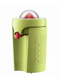 Ashley & Jenny, this Pin is for you....BODUM Electric Juicer