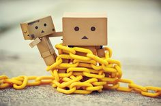 When you're tied down, there's an escape. Look for it, or have a friend help you.