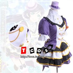Love Live Cosplay Costumes 2014 New Arrival Lovelive Tojo Nozomi clothes 8 sets-inCostumes & Accessories from Novelty & Special Use on Aliexpress.com | Alibaba Group