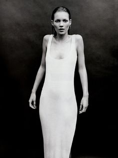 Kate Moss shot by Mario Sorrenti
