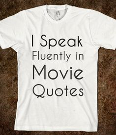 Movie Quotes Tee - rockgoddesstees - Skreened T-shirts, Organic Shirts, Hoodies, Kids Tees, Baby One-Pieces and Tote Bags on Wanelo