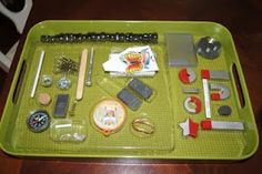 Magnetism tray