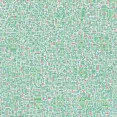 invisible poem paintings / lu xinjian