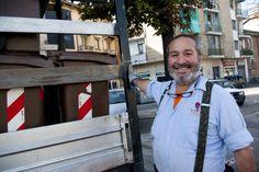 Renzo. Lavoratore del settore #raccoltadifferenzata #worker #waste #recycling #torino