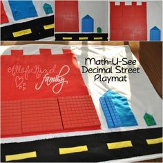 Math-U-See Playmat ~ All of a Kind Family