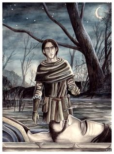 The Funeral Boat of Boromir by peet.deviantart.com on @deviantART