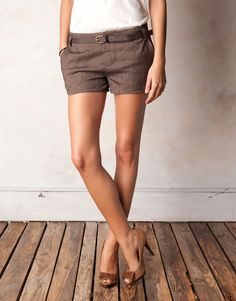 Wish I could have these legs and pull off this look!!