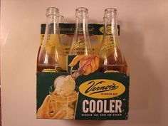 The Boston Cooler: Vernors ginger ale and vanilla ice cream