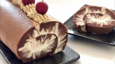 Hurricane Swiss Roll – Just-Simply-Me My Recipes, Cake Recipes, Cooking Recipes, Chocolate Roll, Chocolate Chips, Nice Cream, Cake Ingredients, Unsweetened Cocoa, Sweet Treats