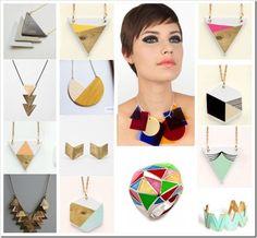 Triangular Shape Geomatric Jewelry