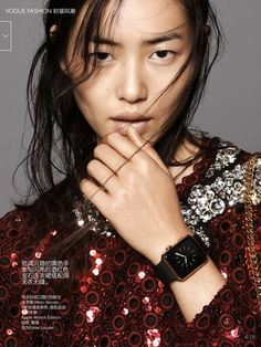 Liu Wen in Marc Jacobs for Vogue China. // Photo by David Sims