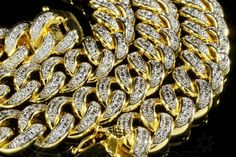 Check Out Our Review Of L&L Nation's Iced Out Miami Cuban Link Gold Chain Necklace! - The Lastest Hip Hop Jewelry Trend In 2016.