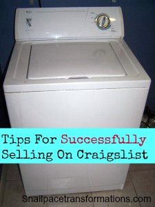 Ways to sell both safely and successfully on Craigslist.