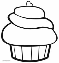 free printable cupcake coloring pages for kids cool2bkids miscellaneous coloring pages pinterest free printable and children s - Cupcakes Coloring Pages Printable