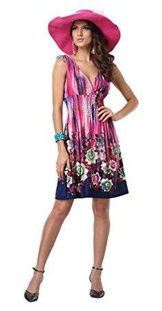 Jinhuanshow Women's Spring Summer Bold Printed Dresses Flower14 (Medium, Color5) Jinhuanshow® http://www.amazon.com/dp/B00XUKFP20/ref=cm_sw_r_pi_dp_HD1awb1YC3RR5
