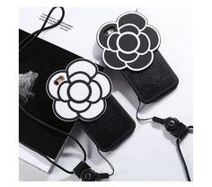 Coque iPhone 6s 6s plus silicone souple camélia N5 à la mode 6s Plus, Iphone 6, Gucci, Chanel, Shoulder Bag, Bags, Flower, Leather, Handbags