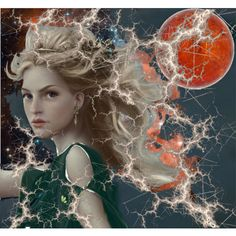 """The Goddess Ceridwen - Goddess of moon, magic, agriculture, nature, poetry language, music, art, science and astrology. She was also keeper of the cauldron. Her name means """"chiding love."""""""