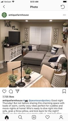 This layout would be amazing for my small living ro&; This layout would be amazing for my small living ro&; Jackson Living Room This layout would be […] living room layout Condo Living Room, Small Living Room Furniture, Small Apartment Living, Living Room Furniture Arrangement, Small Apartment Decorating, Apartment Ideas, Studio Living, Dining Room, Rustic Furniture