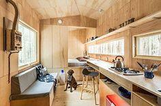 "Tiny Writer's Cabin near Boston. Beautiful! . . #tinyhouse #smallspace #tinyhouses #tinyhousetalk #tinyhousemovement #tinyhousenation #tinyhouselife #thow #tinyliving #architecture #home #micro #cool #future #minimalist #greentinyhouse #green #tinyhomes . . To see more go to: http://tinyhousetalk.com/writers-retreat-getaway-cabin-near-boston/ or search for ""Writers Retreat Getaway Cabin near Boston"""