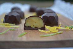 Den Smurte Springform: Fyldt chokolade med hvid chokoladetrøffel og citrus
