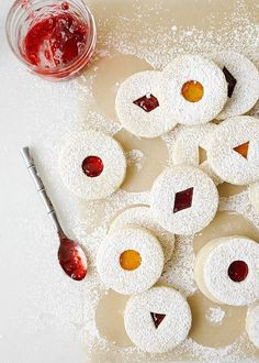 The raspberry lemon linzer cookies are sweet and tart, the perfect cookie for your holiday celebrations. These cookies are perfect for cookie exchanges! Christmas Baking, Christmas Cookies, Christmas Treats, Christmas 2019, Linzer Cookies, Wood Spoon, Perfect Cookie, Cookie Exchange, Holiday Recipes