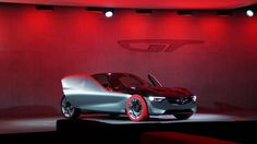 Avant-garde yet pure in design terms - reduced to its bare essentials, with no door handles or mirrors, the Opel GT Concept creates a new expression of driving passion. Bare Essentials, Concept Cars, Mirrors, Door Handles, Passion, Pure Products, Design, Door Knobs