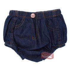 Short Jeans Infantil 100% Algodão Amaciado - Classic: Crianças