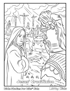 Can you really ever have too many coloring pages? For the last couple of weeks, we've provided some options to use leading up to Easter. We're continuing this pattern today with four mo… Free Easter Coloring Pages, School Coloring Pages, Easter Colouring, Bible Coloring Pages, Coloring Sheets, Bible Lessons For Kids, Bible For Kids, Sunday School Lessons, Sunday School Crafts
