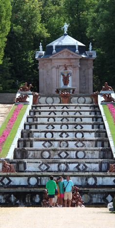 Fuentes del Palacio Real de La Granja (Segovia)